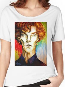 Sherlock: A Study in Colour Women's Relaxed Fit T-Shirt