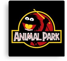 Animal Park Canvas Print