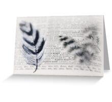 symbolic~ Greeting Card