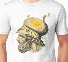 Steampunk Greek Helmet Unisex T-Shirt