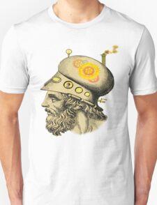 Steampunk Greek Helmet T-Shirt