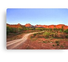 Outback Track (VG) Canvas Print