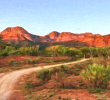 Outback Track (VG) Sticker