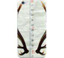 antlers measure iPhone Case/Skin