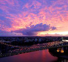 Sunrise over the Story Bridge by NickVerburgt