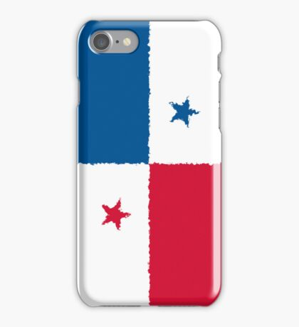 Smartphone Case - Flag of Panama - Vertical Painted iPhone Case/Skin
