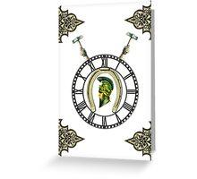 Steampunk Republic Greeting Card