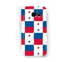 Smartphone Case - Flag of Panama - Patchwork Painted Samsung Galaxy Case/Skin