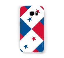 Smartphone Case - Flag of Panama - Diagonal Samsung Galaxy Case/Skin