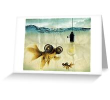 Lens eyed fish idea Greeting Card