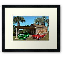Camaros Framed Print