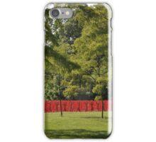 British Red Army At Kentuck Knob PA iPhone Case/Skin