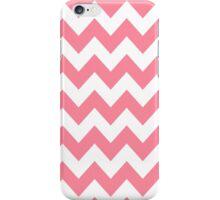 >>chic.chevron<< - pink&white iPhone Case/Skin