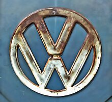 VW Camper Badge by Matt Kennedy portraits