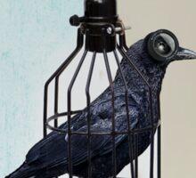 bird in the wire Sticker