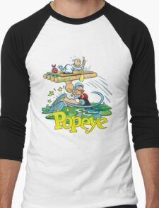 Popeye Men's Baseball ¾ T-Shirt