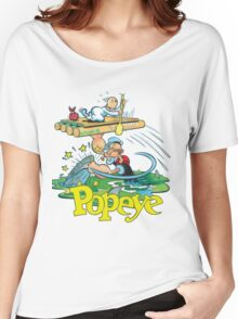 Popeye Women's Relaxed Fit T-Shirt