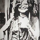 Janis Joplin by Colin  Laing