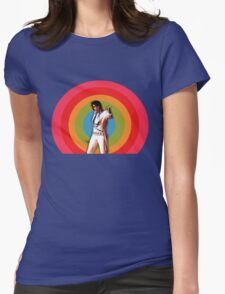 ELVIS. Womens Fitted T-Shirt