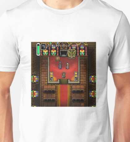 Link to the Past Zeda Sanctuary Unisex T-Shirt