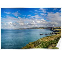 Port Isaac to Tintagel View Poster