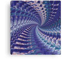 Purple Psych Canvas Print
