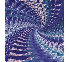 Purple Psych Photographic Print