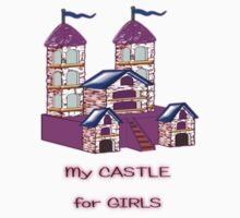 My Castle for Girls T-shirt Kids Tee