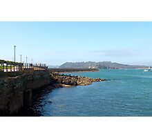 Plymouth Breakwater Photographic Print