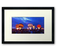 BalloonFest Framed Print