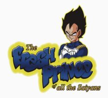 The Fresh Prince of all the Saiyans Kids Clothes