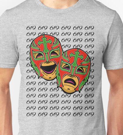 REY MYSTERIO 619 COMEDY TRAGEDY Unisex T-Shirt