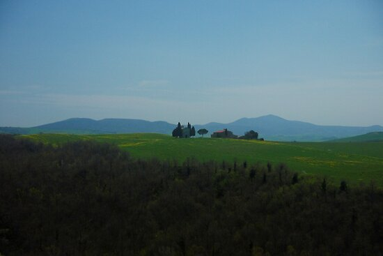 Val D'Orcia chapel by modohunt