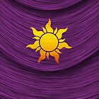 Tangled Kingdom Sun Emblem 2 by Jeffery Borchert