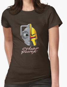 Cyber Punk Womens Fitted T-Shirt