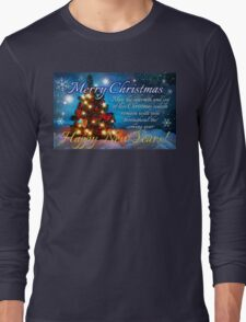 christmas scene 1 Long Sleeve T-Shirt