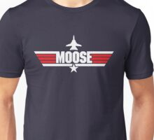 Custom Top Gun Style - Moose Unisex T-Shirt