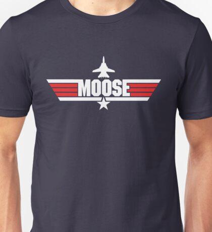 Custom Top Gun Style - Moose Unisex T-Shirt