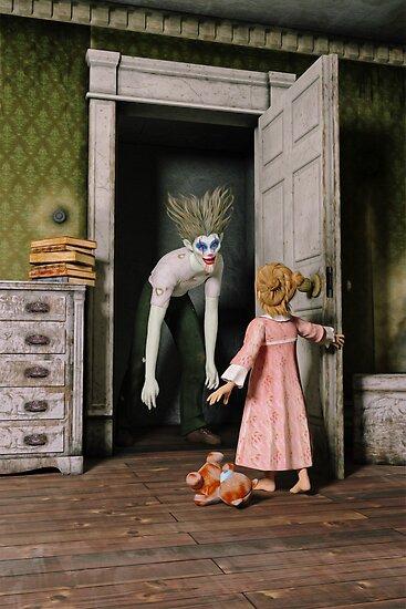 Mr Kreepy The Clown by Liam Liberty