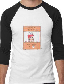 Free Medical Help Men's Baseball ¾ T-Shirt