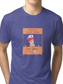 Free Medical Help Tri-blend T-Shirt