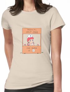 Free Medical Help Womens Fitted T-Shirt