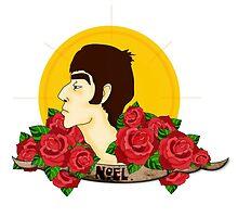 Noel Gallagher by infinityarrows