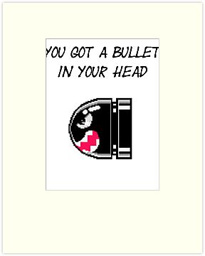 Bullet in your head by Vinchtef