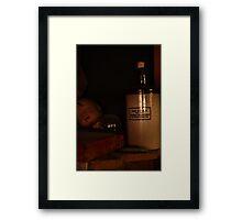Garage Shelf Framed Print