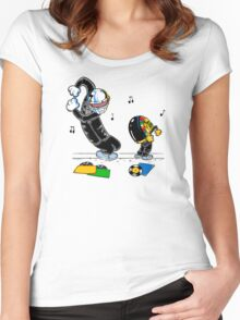 Let's be daft Women's Fitted Scoop T-Shirt