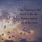 I love the rain by aciddream