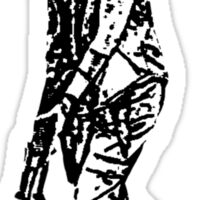 Carol - The Walking Dead Sticker