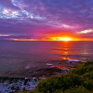 Sunset, Palos Verdes CA by photosbyflood
