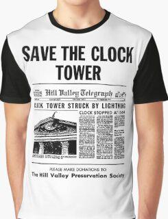 Save the Clocktower Graphic T-Shirt